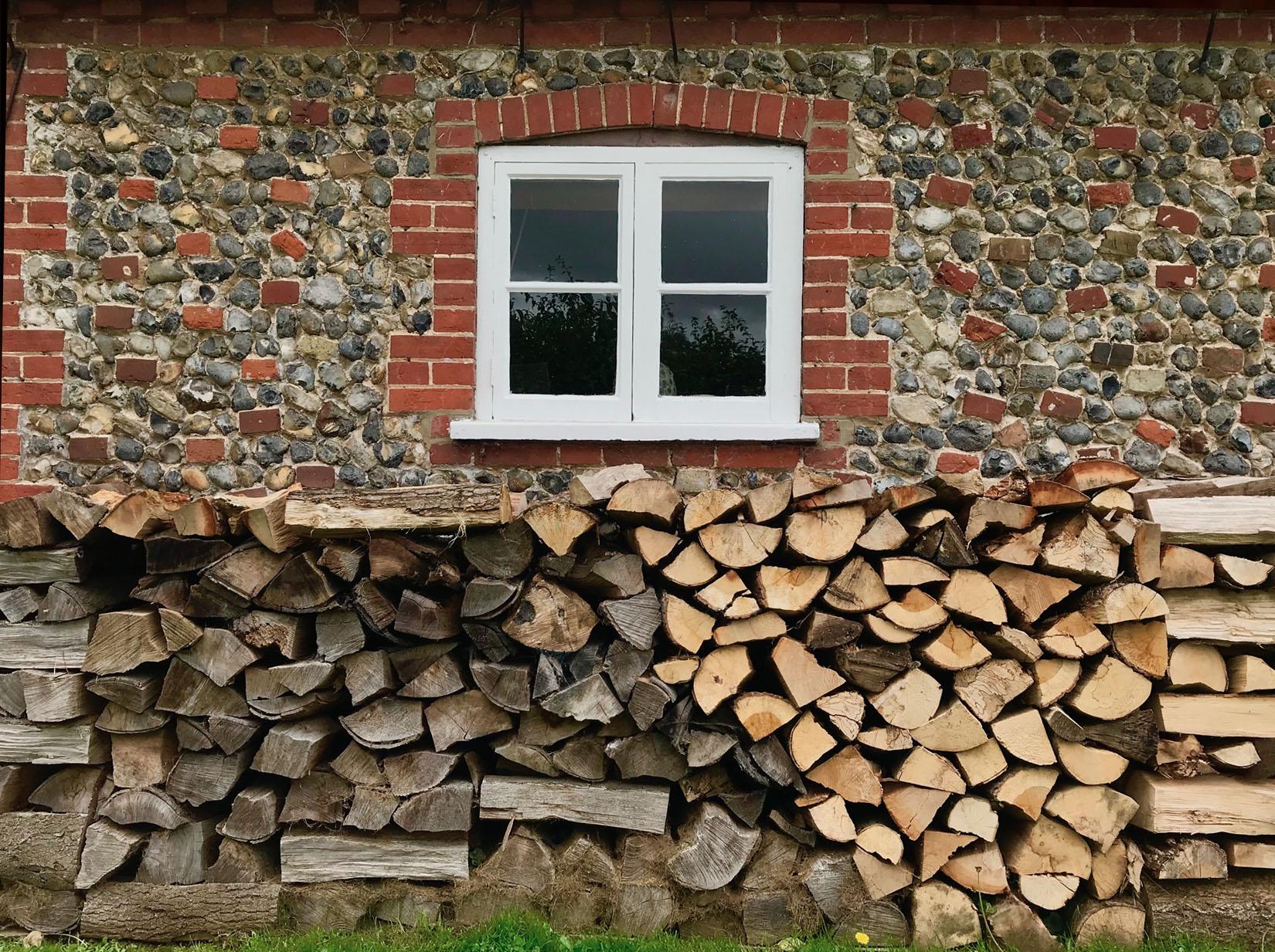 Firewood Stack Decoration Service